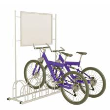 Soporte parking para bicicletas con marco displayexpress - Parking de bicicletas ...