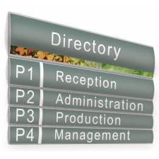 Placas para directorios