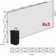 Photocall 4,55x2,29 m CANGAS 6x3 módulos