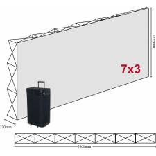 Photocall 5,3x2,29 m CANGAS 7x3 módulos