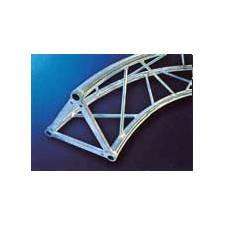 Truss triangular tramos curvos 25 cm