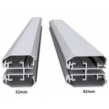 Marco de aluminio LIMA DOBLE CARA tipos de perfil
