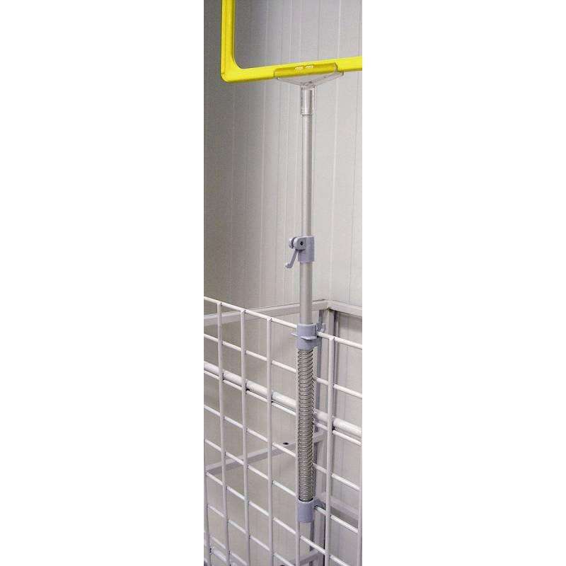 Soporte de marcos para cestas metálicas
