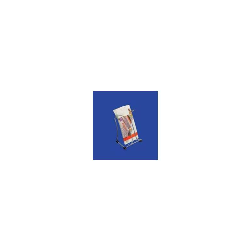 Portafolletos metálico para 10x21 cm