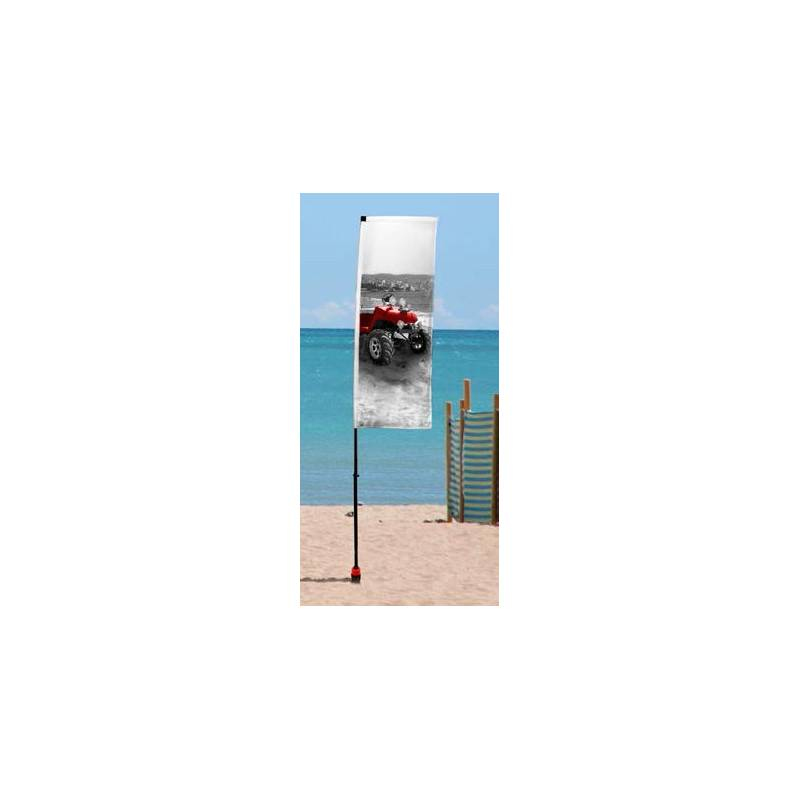 Beach banner de 3 a 4,72 metros