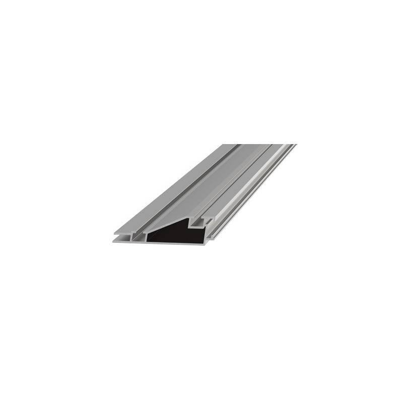 Perfil de aluminio en color negro o aluminio anodizado de for Colores de perfiles de aluminio