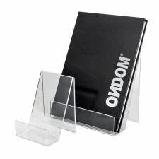 Soporte para folletos sin laterales