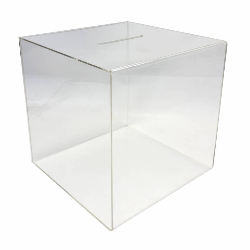 Urna de 30 x 30 x  30 cm sin cerradura