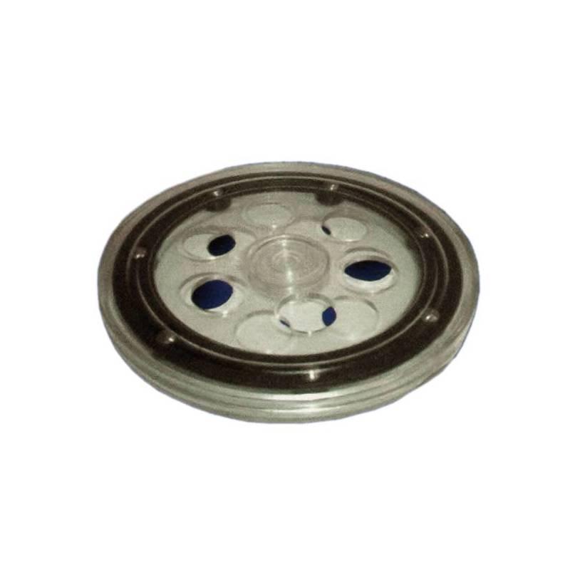 Base giratoria no motorizada de 140 milímetros de diámetro.