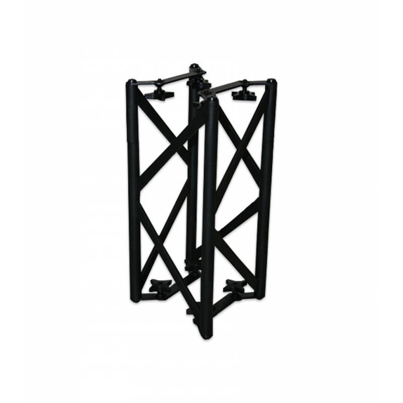 Truss cuadrado negro de 30 x 15 x 15 cm