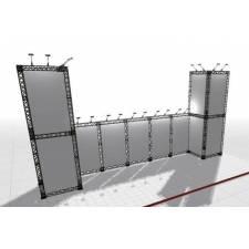 Truss cuadrado de 15x15 ejemplo de construcción