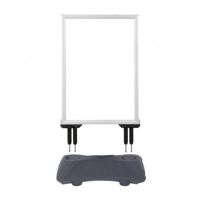 Caballete de exterior para cartel 50x70 o 70x100 cm.