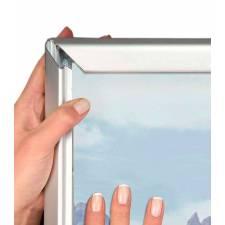 Caballete de aluminio apto para exterior marco click