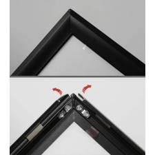 Caballete para exterior marco click