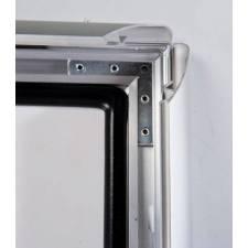 Caballete de aluminio impermeable marco click con junta estanca
