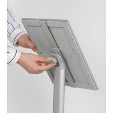 Atril para DIN A4 o DIN A3 puede colocarse en horizontal o vertical
