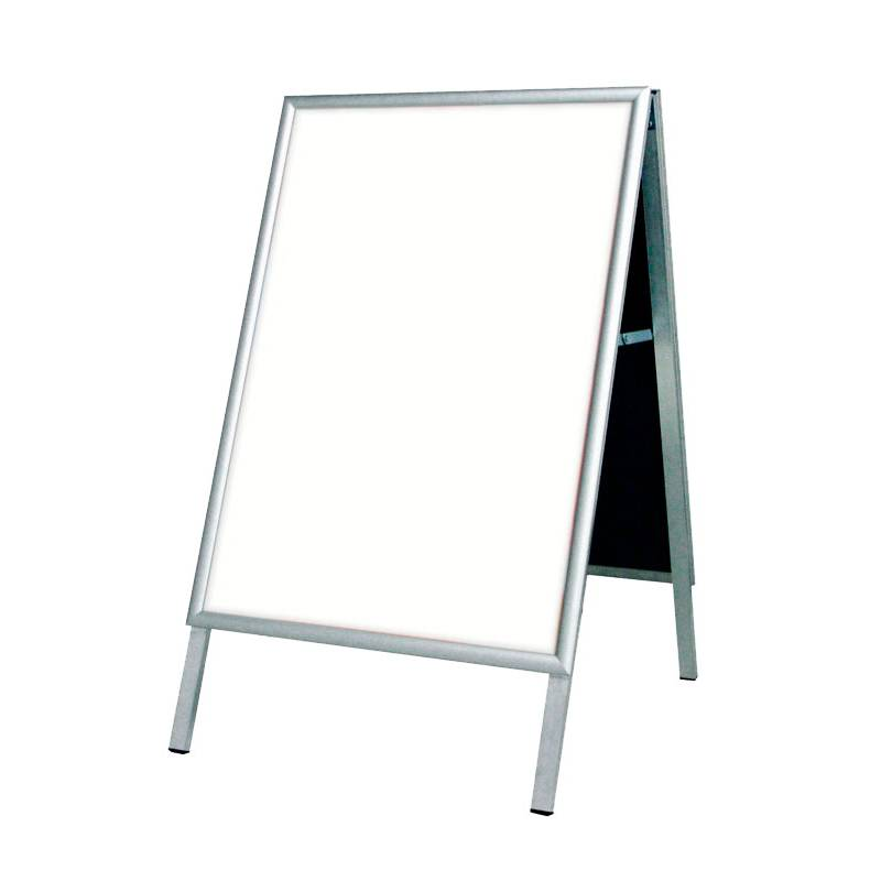 Caballete de Aluminio para cartel de 50X70 cm