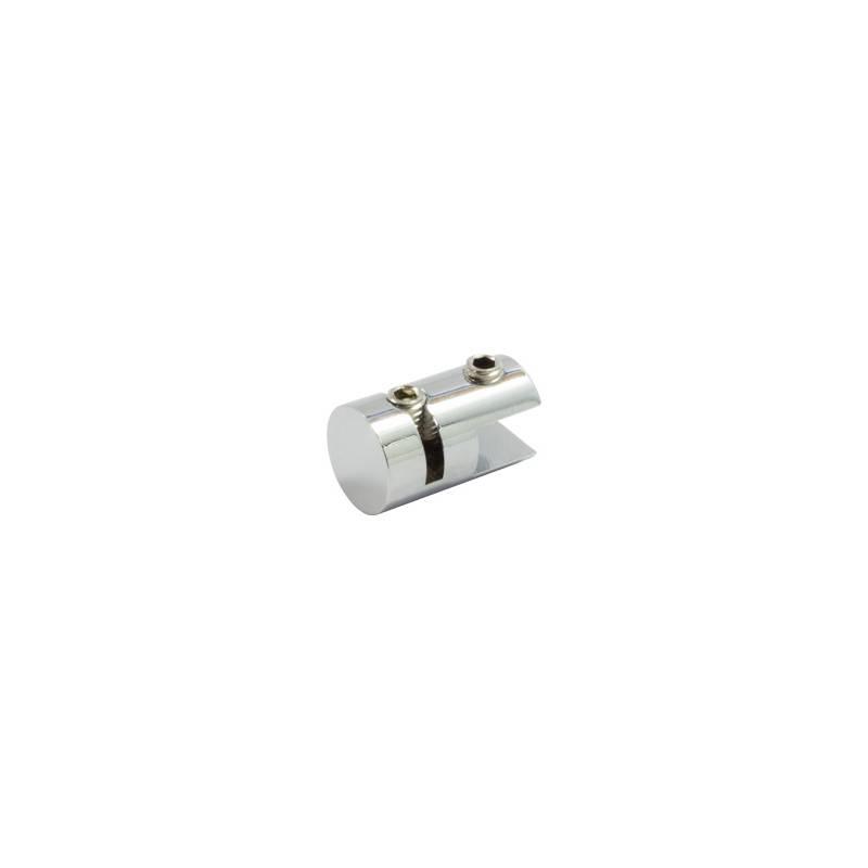 Pinza cromada sencilla para Cable Kit