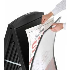 Caballete de plástico para carteles DIN A1 colocación del cartel