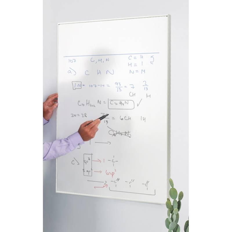 Pizarra tablón de anuncios uso con rotuladores no permanentes