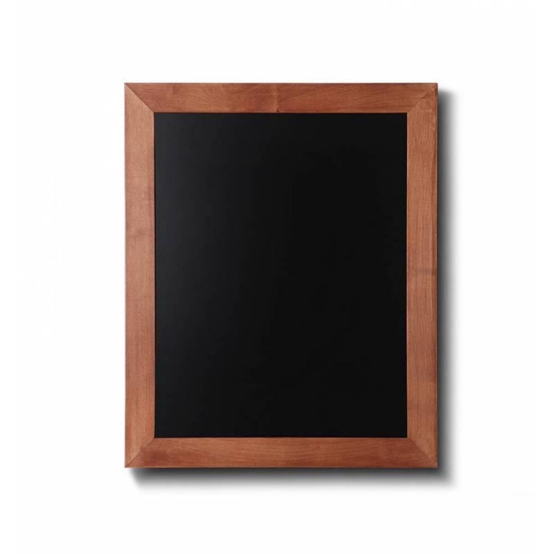 Pizarra de madera barnizada de 40x50 cm de color marrón claro