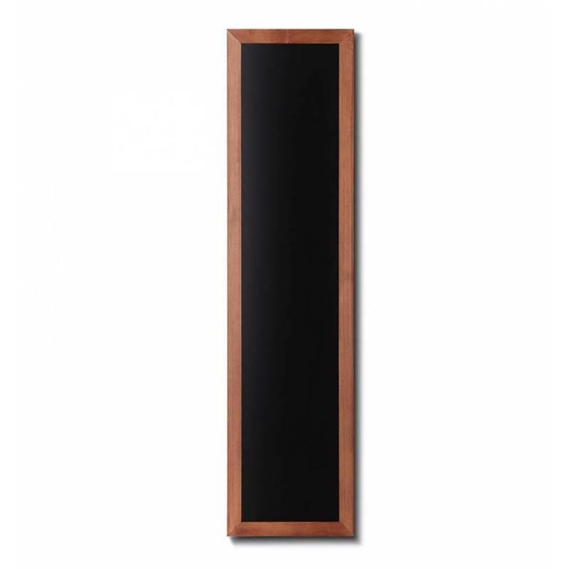 Pizarra de madera barnizada de 35x150 cm marrón claro