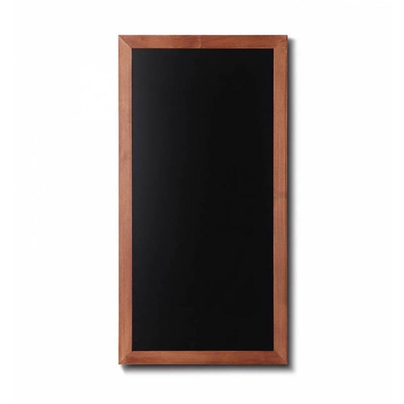 Pizarra de madera barnizada de 56x100 cm marrón claro