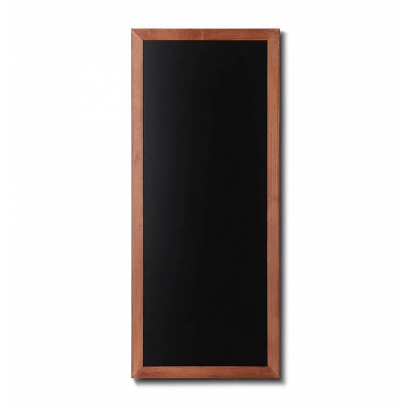Pizarra de madera barnizada de 56x120 cm marrón claro