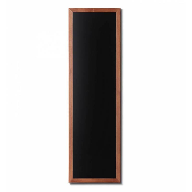 Pizarra de madera barnizada de 56x170 cm marrón claro