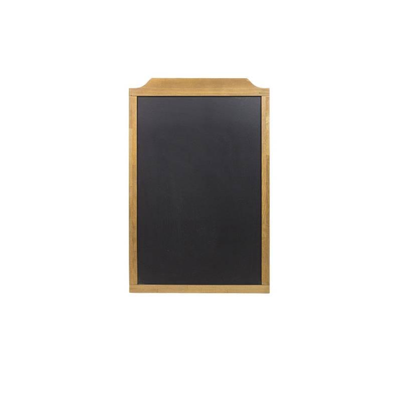 Pizarra de madera de 60x91 cm con marco superior más grueso