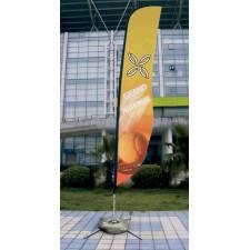 Flying banner con pie PARAMO 360cm